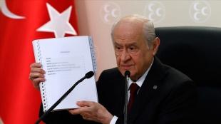 Bahçeli: 100 maddelik anayasa önerimizin hazırlık aşaması tamamlandı