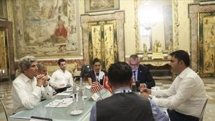 Bakan Kurum, ABD Başkanı Biden'ın İklim Özel Temsilcisi Kerry ile bir araya geldi