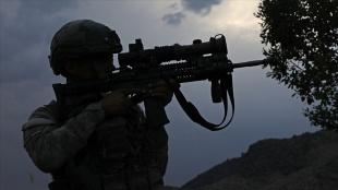Barış Pınarı bölgesinden kaçmaya çalışan 8 PKK/YPG'li terörist etkisiz hale getirildi