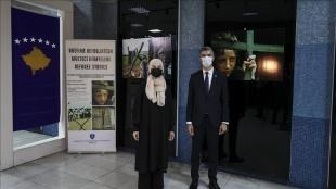 """Başkentte Kızılay Metro Sanat Galerisi'nde """"Mülteci Hikayeleri Fotoğraf Sergisi"""" açıl"""