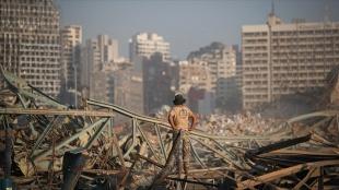 Beyrut Limanı'ndaki patlamaya ilişkin soruşturma yine askıya alındı