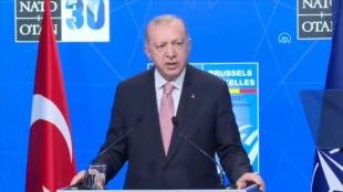 CANLI: Cumhurbaşkanı Erdoğan: NATO'ya ihtiyaç duyulan her yerde ittifak aktif rol üstlenmelidir
