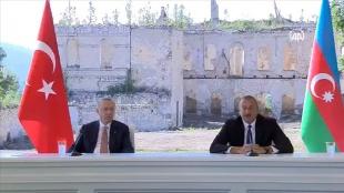 CANLI: Erdoğan-Aliyev ortak basın toplantısı