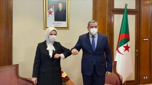 Cezayir Başbakanı Cerrad, Türkiye'nin Cezayir Büyükelçisi'ni kabul etti