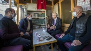 CHP Genel Başkanı Kılıçdaroğlu, İskitler esnafıyla buluştu