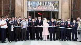 Cumhurbaşkanı Erdoğan 15 Temmuz Demokrasi Müzesi'ni açtı