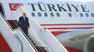 Cumhurbaşkanı Erdoğan, BM 76'ncı Genel Kurulu'na katılmak üzere yarın ABD'ye gidecek