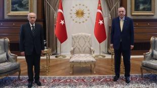 Cumhurbaşkanı Erdoğan, MHP Genel Başkanı Bahçeli'yi kabul edecek