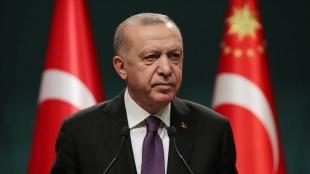 Cumhurbaşkanı Erdoğan, şehit bekçi Turan'ın ailesine başsağlığı mesajı gönderdi