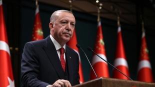 Cumhurbaşkanı Erdoğan'dan Papa Fransuva'ya geçmiş olsun mesajı