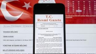 Cumhurbaşkanı Erdoğan'ın açıkladığı esnafa hibe desteğine ilişkin karar Resmi Gazete'de ya