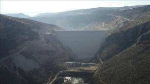 Cumhurbaşkanı Erdoğan'ın katılacağı törenle Diyarbakır Silvan Barajı'nın gövde dolgusu tam