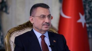 Cumhurbaşkanı Yardımcısı Oktay, Azerbaycan Cumhuriyeti'nin kuruluşunun 103'üncü yılını kut