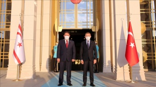 Cumhurbaşkanı Yardımcısı Oktay, kayınpederi ölüm fail KKTC Başbakanı Saner ile telefonda görüştü