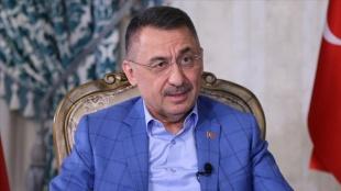 Cumhurbaşkanı Yardımcısı Oktay: Kıbrıs'ta iki devletli çözümü her alanda savunmaya devam edeceğ