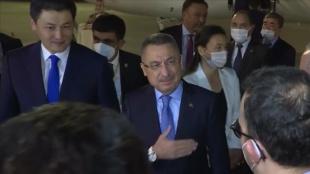 Cumhurbaşkanı Yardımcısı Oktay Kırgızistan'da