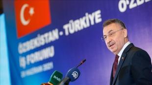 Cumhurbaşkanı Yardımcısı Oktay: Özbekistan ile ticaret hacmimiz yüzde 93 arttı