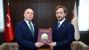 Cumhurbaşkanlığı İletişim Başkanı Altun, Azerbaycan Kültür Bakanı Anar Kerimov ile görüştü