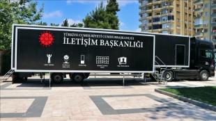 Cumhurbaşkanlığı İletişim Başkanlığı Dijital Tırı Osmaniye'de