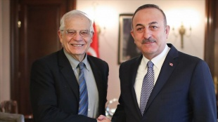 Dışişleri Bakanı Çavuşoğlu, AB Yüksek Temsilcisi Borell ile ikili görüşme gerçekleştirecek
