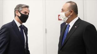 Dışişleri Bakanı Çavuşoğlu, ABD Dışişleri Bakanı Blinken ile ikili ve bölgesel meseleleri görüştü