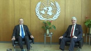Dışişleri Bakanı Çavuşoğlu, BM 75. Genel Kurul Başkanı Volkan Bozkır ile görüştü