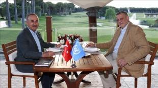 Dışişleri Bakanı Çavuşoğlu, BM Libya Özel Temsilcisi Kubis ile görüştü