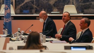 Dışişleri Bakanı Çavuşoğlu: Kıbrıs Türk tarafının egemen eşitlik önerisine tam destek verdik