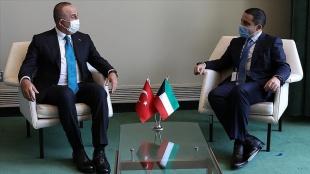 Dışişleri Bakanı Çavuşoğlu Kuveyt, Maldivler, Ürdün ve Endonezyalı mevkidaşlarıyla bir araya geldi