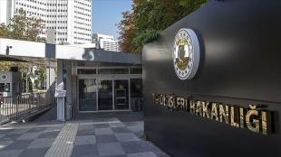 Dışişlerinden, AB Komisyonu Başkan Yardımcısı'nın açıklamalarına tepki