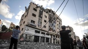 Doha, İsrail'in Gazze'deki Katar Kızılay binasını bombalamasını şiddetle kınadı