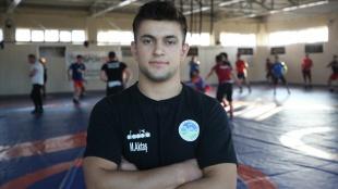 Dünya şampiyonu işitme engelli güreşçi, olimpiyatlarda altın madalyaya odaklandı