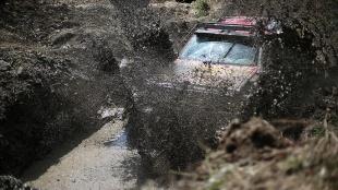 Düzce'de off-road yarışları heyecanlı anlara sahne oldu