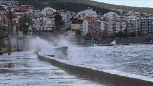 Ege Denizi'nde kuvvetli fırtına bekleniyor