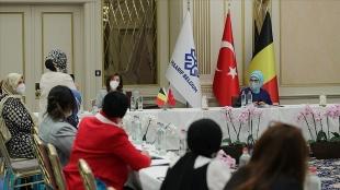 Emine Erdoğan Brüksel'de Maarif Vakfının istişare toplantısına katıldı