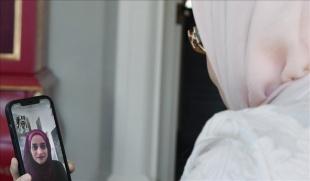 Emine Erdoğan, Filistin'de 'direnişin sembolü' olan Mariam Afifi ile telefonda görüşt