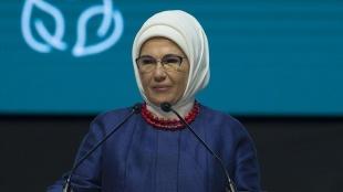 Emine Erdoğan 'karbon ayak izinin azaltılmasına' dikkati çekti
