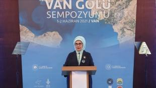 Emine Erdoğan: Van Gölü'nü Koruma Eylem Planı ile Van Gölü layıkıyla korunacak