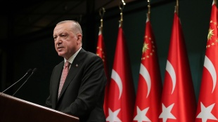 Erdoğan'ın, Cumhurbaşkanlığı Hükümet Sistemi'ndeki üçüncü yılı