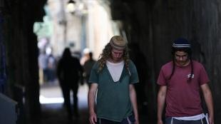 Fanatik Yahudilerin Mescid-i Aksa baskınları arife günü de devam etti