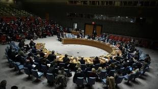 Filistin, ABD'nin BMGK'daki tutumuna tepki gösterdi