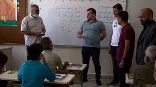 Fırat Kalkanı Harekatı bölgesindeki Bab'da eğitim seferberliği başlatıldı