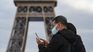 Fransa'da son 24 saatte 22 bin 86 Kovid-19 vakası kaydedildi