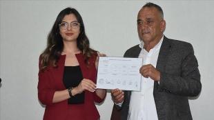 Güney Belediye Başkanı Erol Karabacak mazbatasını aldı