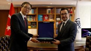 Güney Kore'nin Ankara Büyükelçisi Lee, AA'yı ziyaret etti