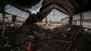 Hamas: İsrail, Gazze'yi bombalayarak iç krizlerini ihraç etmeye çalışıyor