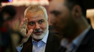 Hamas lideri Heniyye, Mısırlı yetkililerle 'İsrail ile ateşkes' konusunu görüştü