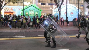 Hong Kong'da muhaliflere 2019'da yasa dışı protesto düzenlemekten 8-18 ay hapis cezası ver