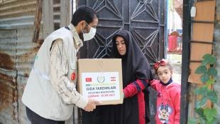 İHH'dan Lübnan'daki 150'den aşkın Filistinli sığınmacı aileye insanca yardım