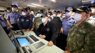 İlk milli Atmaca güdümlü füzesi, Akar ve komutanların katılımıyla test edildi